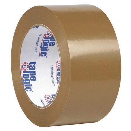 Natural Rubber Tape, 1.9 Mil, 2''x110 yds, Tan, PK6