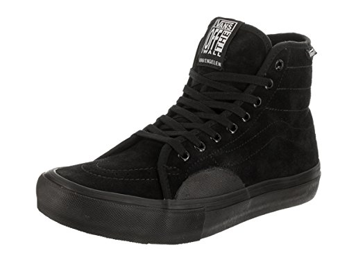 Vans Heren Av Classic High P Skate Shoe Blackout
