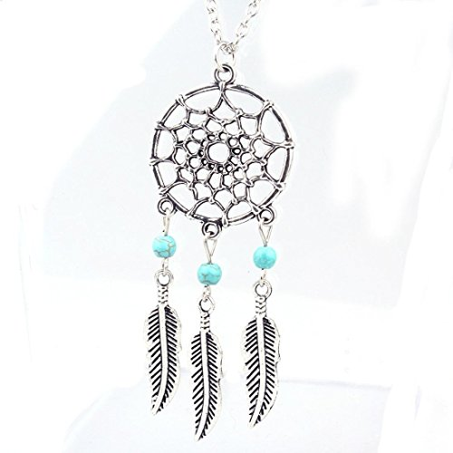 OVERMAL Fashion Retro Jewelry Dream Catcher Pendant Chain Necklace
