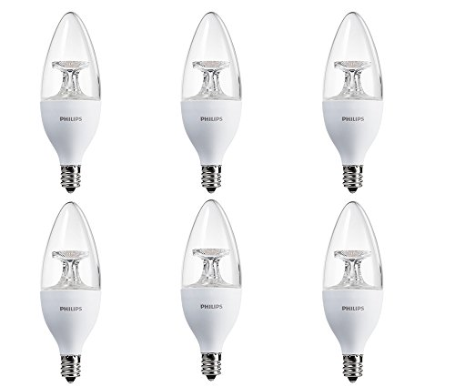 Philips-LED-Chandelier-Bulb-6-Pack-40-Watt-Equivalent-Soft-White-2700K-B11-Decorative-Candle-Dimmable-Candelabra-Base