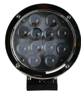 APHRODITE 2PCS 60W Black and White Color CREE LED Work Light 5100 Lumen Offroad JEEP Waterproof Lamp by Aphrodite (Image #2)