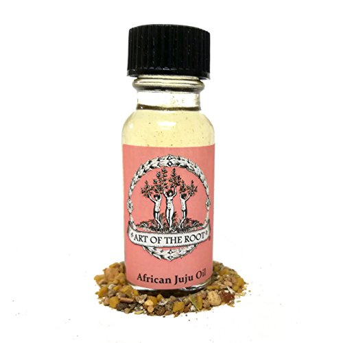 African JuJu Oil 1/2 For Power, Potency and and Effectivieness of Rituals & Spells Hoodoo Wiccan Pagan Voodoo ()