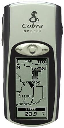 Amazon.com: Cobra GPS 500 1.1-inch Portable GPS Navigator