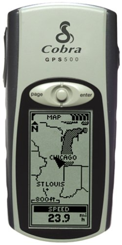 Cobra GPS 500 1.1-Inch Portable GPS Navigator by Cobra