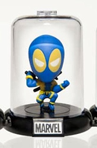 Marvel Deadpool Collectible Original Mini's Domez ~ Blue Suit (Opened to Identify) (Dead Waiter Costume)