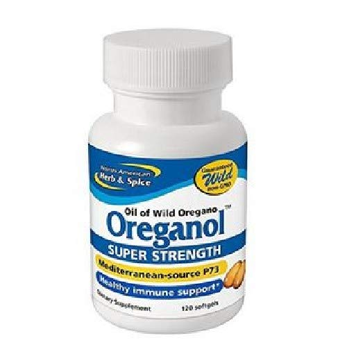 Oreganol P73, Super Strength - 120 Softgels by North American Herb and Spice ()