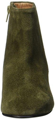 scuro verdi donna in scamosciata Stivale sfalsata verde selezionato stivali pelle ORqvwqC