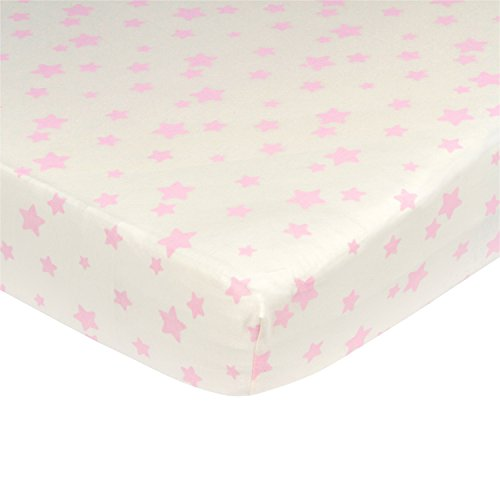 organic crib sheet stars