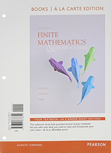 Finite Mathematics+Its Appl.(Looseleaf)