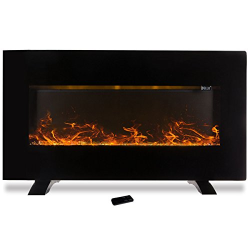 50″ 1500W Fireplace Wall Mounted + Stand Electric Flat Panel Heater + Remote Review