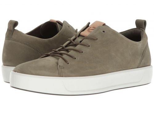 ECCO(エコー) メンズ 男性用 シューズ 靴 スニーカー 運動靴 Soft 8 Tie - Grape Leaf/Powder [並行輸入品] B07C8GLQKW