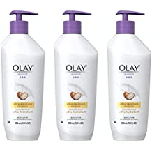 Body Lotion by Olay, Quench Ultra Moisture Shea Butter Body Lotion, 11.8 fl oz (Pack of 3)