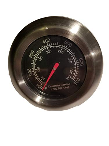 Replacement BBQ Grill Thermometer/Temp Gauge for Better Home & Garden and Backyard Grill Models
