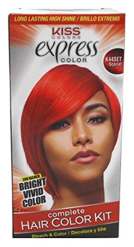 Scarlet Hair Color - Kiss Express Color Kit #K44Set Scarlet