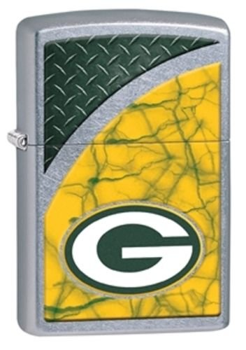 Latest 2016 Style Personalized Zippo Lighter NFL - Free Laser Engraving ... (GREEN BAY PACKERS) (Green Bay Packers Zippo Lighter)