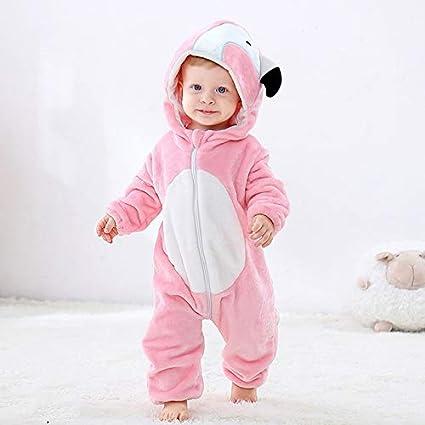 Pijama Unicornio Infantil del bebé de los Mamelucos Muchacha ...