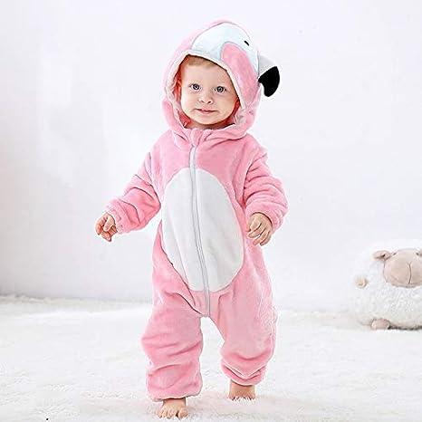 Pijama Unicornio Infantil del bebé de los Mamelucos ...