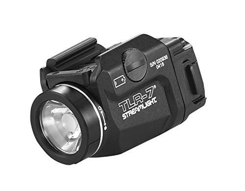 (Streamlight 69420 TLR-7 Low Profile Rail Mounted Tactical Light, Black - 500 Lumens)