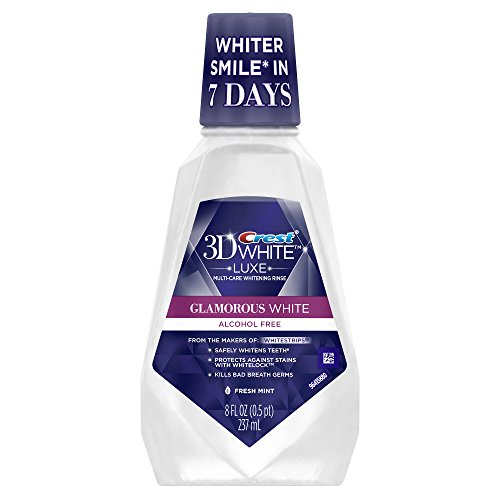 rous White Multi-Care Whitening Fresh Mint Flavor Mouthwash 8 Fl Oz (Pack of 6) (Mint Whitening Mouthwash)
