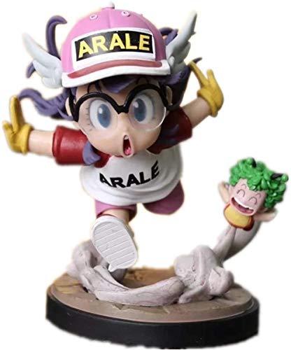 No Dr Slump Figure Arale Figure (Color Blue) Modelo de Anime Escultura Coleccion regalo6inches