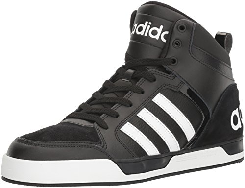 adidas NEO Men's Shoes | Raleigh 9TIS Mid Basketball, Black/White/Black, (13 M US)