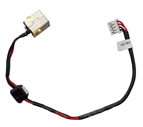 New AC DC Jack Power Plug in Charging Port Connector Socket with Wire Cable Harness Replacement for Acer Aspire E5-511 E5-521 E5-551 E5-571 V3-572