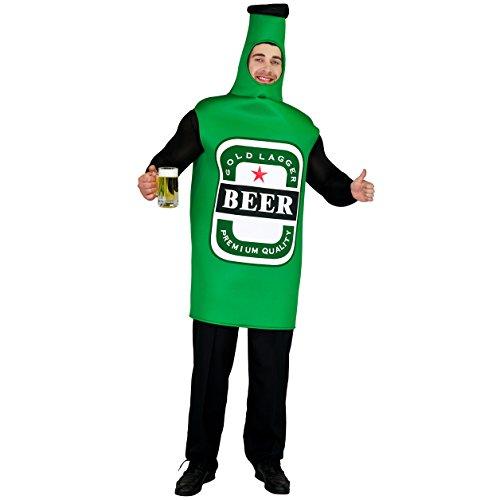flatwhite Adult Men's Lightweight Beer Bottle Costume One Size - Bottle Of Beer Costume