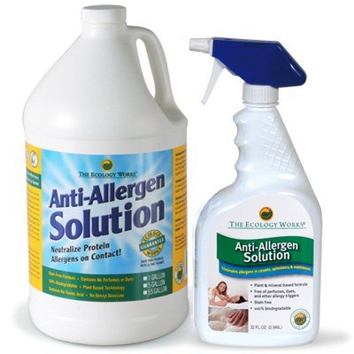 Quart & Gallon Bottles Anti-Allergen Solution