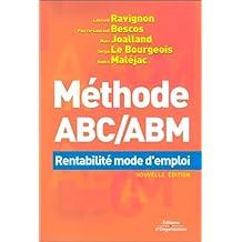 MÉTHODE ABC/ABM RENTABILITÉ MODE D'EMPLOI N.E.