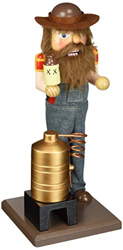 Santa's Workshop 70764 Moonshiner Nutcracker, 12