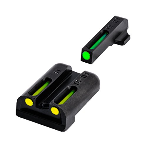 (TRUGLO TG131ST1Y TFO Brite-Site Series, Sig #8 Front/ #8 Rear, Yellow Rear Sight)