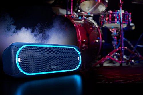 416JCbkyOGL - Sony SRSXB30/BLUE Portable Wireless Speaker with Bluetooth, Blue