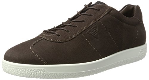 Ecco Herren Soft 1 Mens Sneaker Braun (Coffee)