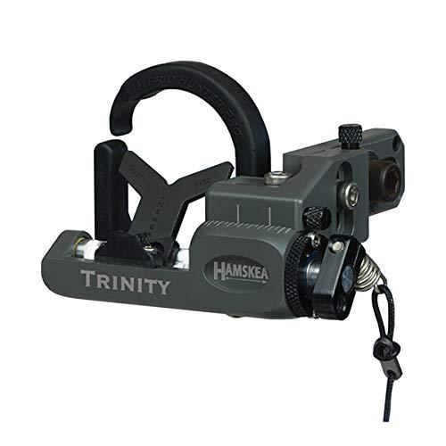 Hamskea Trinity Hunter Pro Micro Tune Rest, Right Hande (Concrete)