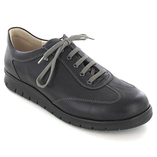 Shoes Mens Kiruna Finn Schwarz Nubuck Comfort SzqzwCI