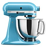 KitchenAid KSM150PSCL Artisan 5-Quart Stand Mixer, Crystal Blue