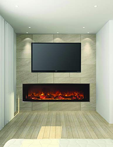 Cheap Modern Flames Electric Fireplaces Landscape Fullview 2 Built-in Clean Face (60