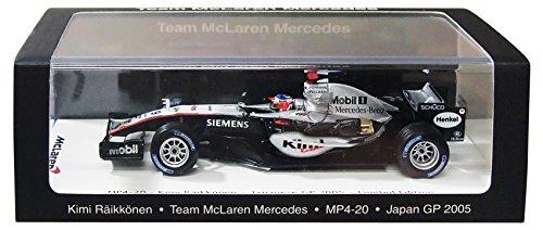 1/43 マクラーレン MP4-20 2005年日本GP 優勝 #9 キミ・ライコネン VMM1376の商品画像