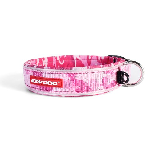 EzyDog Neo Dog Collar, Large, Pink Camo