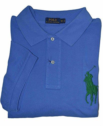 Polo Ralph Lauren Men's Big&Tall Big Pony Short Sleeve Mesh Polo Shirts-SB-XLT (Sb Ralph Mens Lauren)