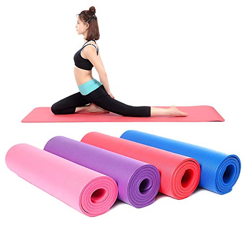 Unique Decor Large Yoga mat for Women 6mm with Anti Slip and Workout for Gym and Home with high Cushioning and Fitness Surface for Men & Women Exercise .{Color-Multi}6mm} Price & Reviews