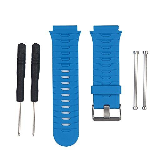 Band for Garmin Forerunner 920XT Watch, Silicone Wristband Replacement Watch Band for Garmin Forerunner 920XT (Blue)