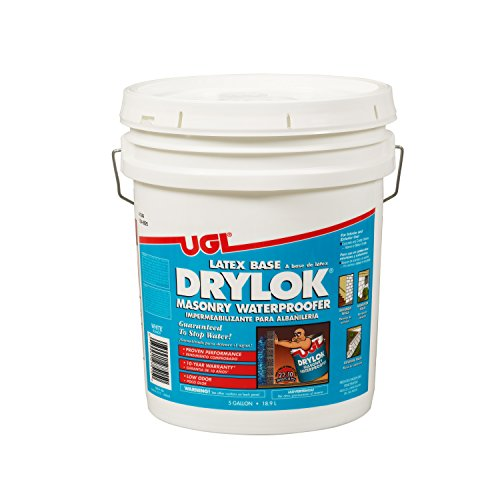 Drylok 275 Masonry Waterproofer WaterBased White 5Gallon Pail