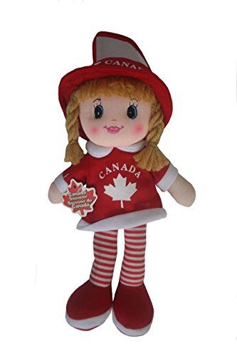 Canada Girl Kickin' Plush Doll With Hook