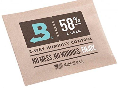 /2/V/ías Control de humedad Boveda Humidipak de 58/% RH 8/gramos 8G 3/unidades/ nuevo