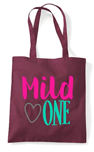 Bag Tote Best Statement Mild Bff Friends Matching Burgundy One Shopper 4IY0qY