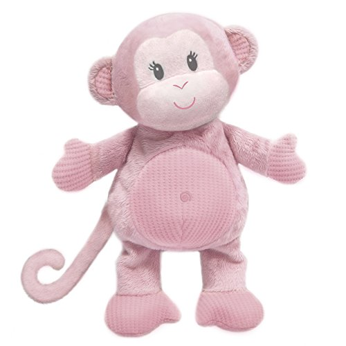 "First & Main 8"" Pink Toodles Monkey"