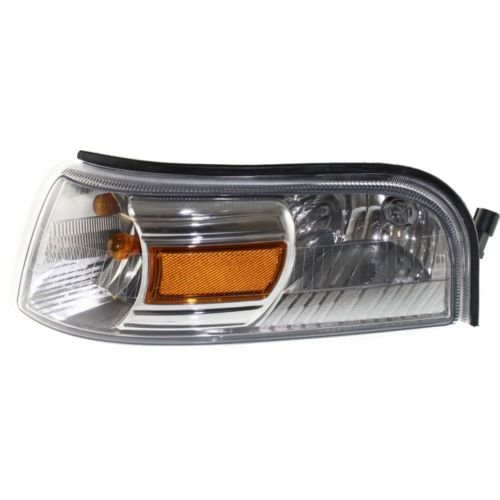 Make Auto Parts Manufacturing - GRAND MARQUIS 06-11 CORNER LAMP LH, Assembly, Park/Signal/Side Marker Lamp - FO2526103
