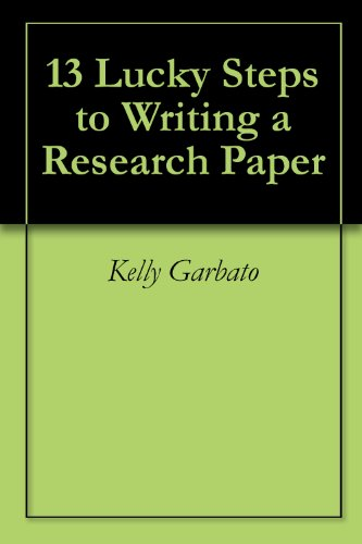 steps for writing a research paper
