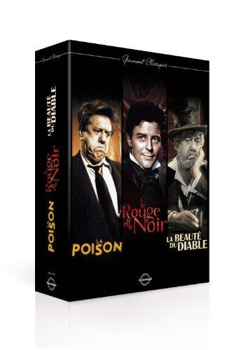 Gaumont Classiques - La poison + Le rouge et le noir + La beauté du (Classique Rouge)